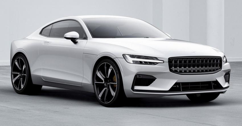 Polestar 1 debuts as 600 hp, 1,000 Nm PHEV coupe; Polestar 2 EV sedan to take on Tesla Model 3 in 2019 Image #725386