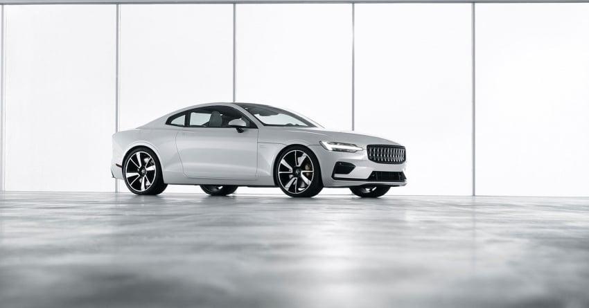 Polestar 1 debuts as 600 hp, 1,000 Nm PHEV coupe; Polestar 2 EV sedan to take on Tesla Model 3 in 2019 Image #725387