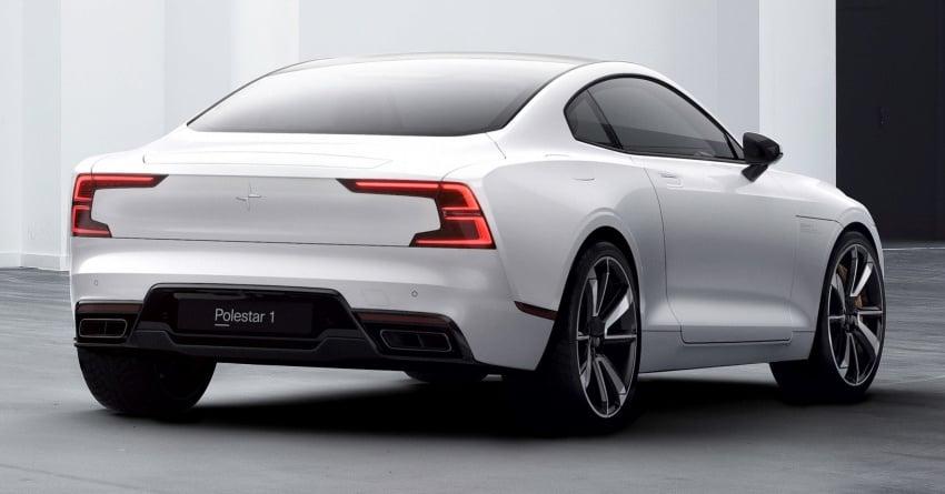 Polestar 1 didedahkan – <em>coupe</em> dengan teknologi <em>plug-in hybrid</em> berkuasa 600 hp dan tork maksima 1,000 Nm Image #725493