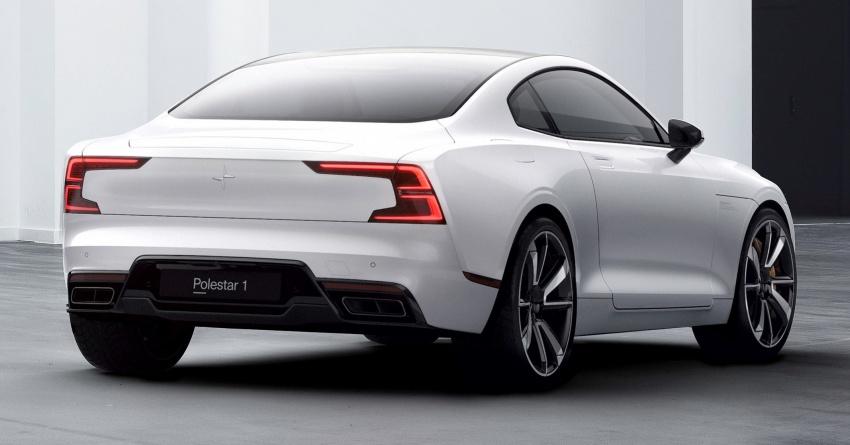 Polestar 1 debuts as 600 hp, 1,000 Nm PHEV coupe; Polestar 2 EV sedan to take on Tesla Model 3 in 2019 Image #725388