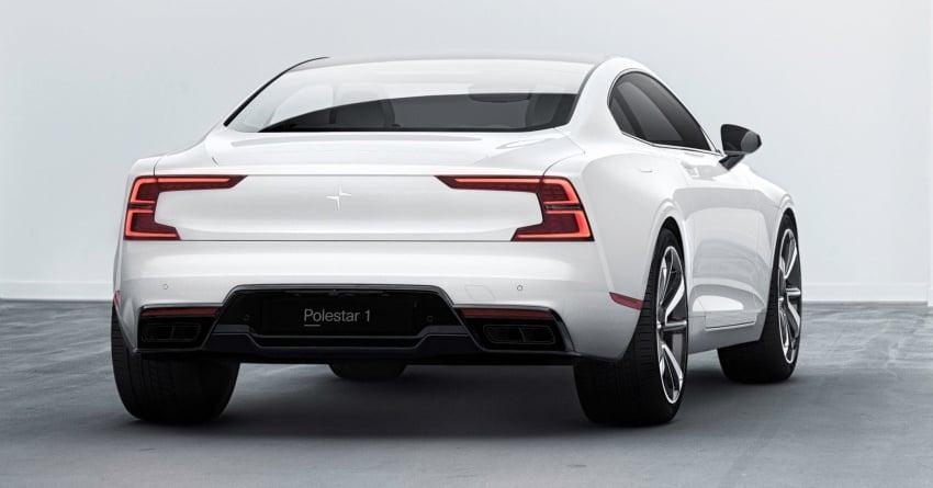 Polestar 1 debuts as 600 hp, 1,000 Nm PHEV coupe; Polestar 2 EV sedan to take on Tesla Model 3 in 2019 Image #725389