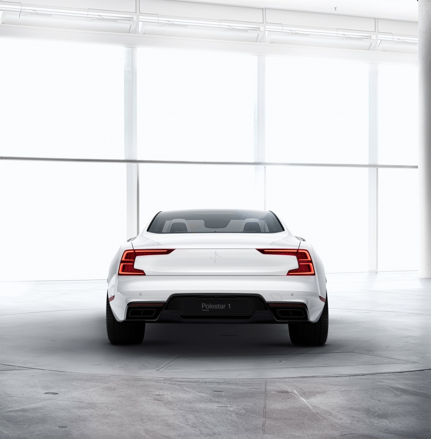 Polestar 1 debuts as 600 hp, 1,000 Nm PHEV coupe; Polestar 2 EV sedan to take on Tesla Model 3 in 2019 Image #725390