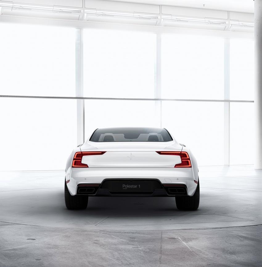 Polestar 1 debuts as 600 hp, 1,000 Nm PHEV coupe; Polestar 2 EV sedan to take on Tesla Model 3 in 2019 Image #725390