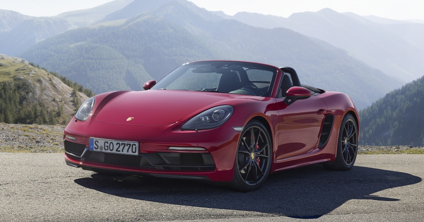 Porsche 718 GTS models debut – Cayman and Boxster Image #725508