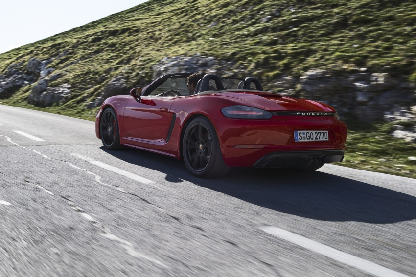 Porsche 718 GTS models debut – Cayman and Boxster Image #725509