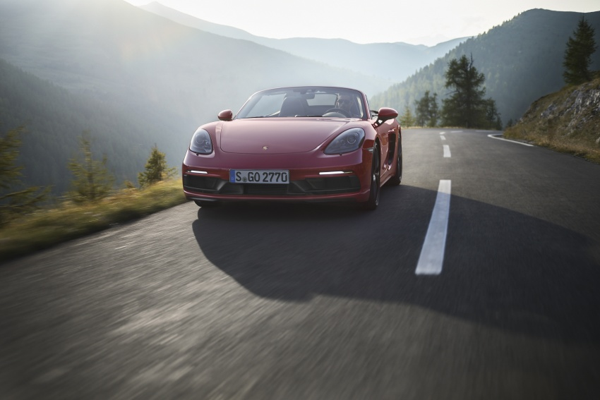 Porsche 718 GTS models debut – Cayman and Boxster Image #725510