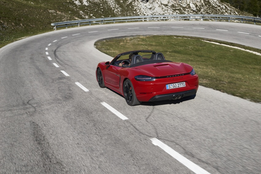 Porsche 718 GTS models debut – Cayman and Boxster Image #725514