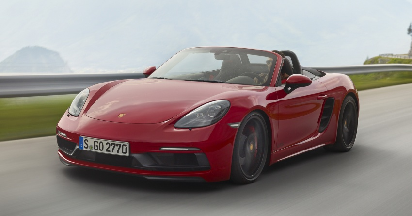 Porsche 718 GTS models debut – Cayman and Boxster Image #725515
