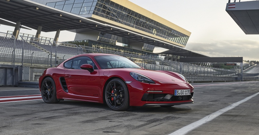 Porsche 718 GTS models debut – Cayman and Boxster Image #725517