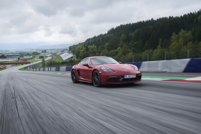 Porsche 718 GTS models debut – Cayman and Boxster Image #725521