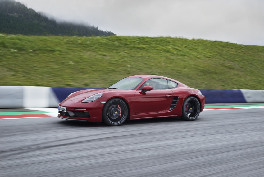 Porsche 718 GTS models debut – Cayman and Boxster Image #725522