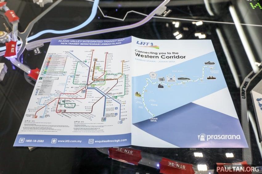 LRT3 alignment from Bandar Utama to Klang shown Image #722473