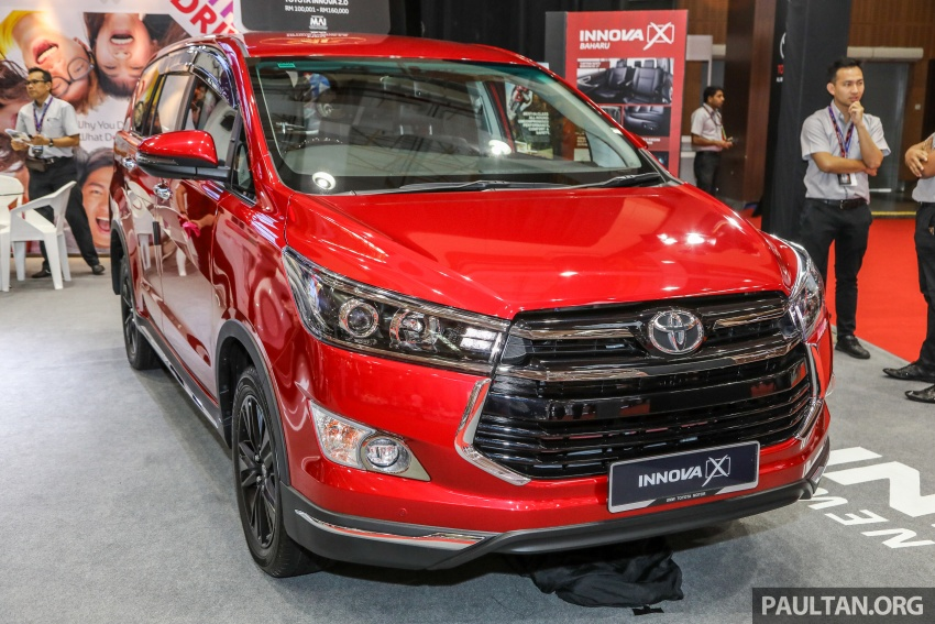 GALLERY: Toyota Innova 2.0X – priced at RM132,800 Image #758824