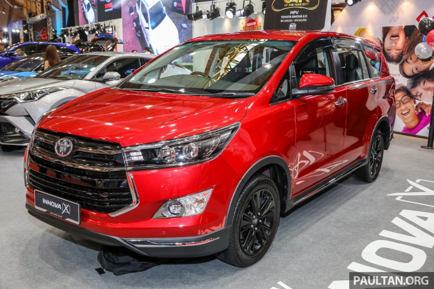 GALLERY: Toyota Innova 2.0X – priced at RM132,800 Image #758826