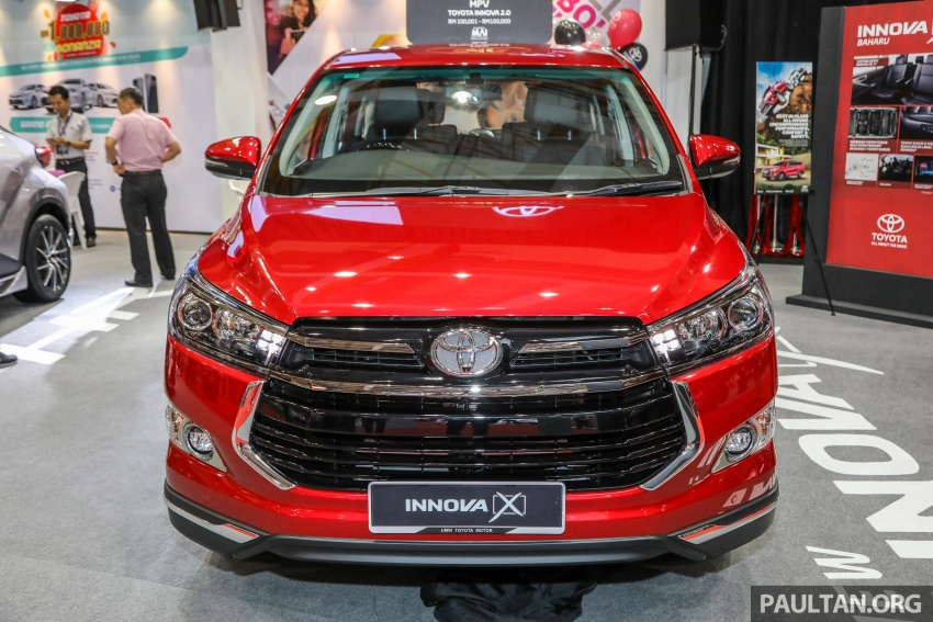 GALLERY: Toyota Innova 2.0X – priced at RM132,800 Image #758830