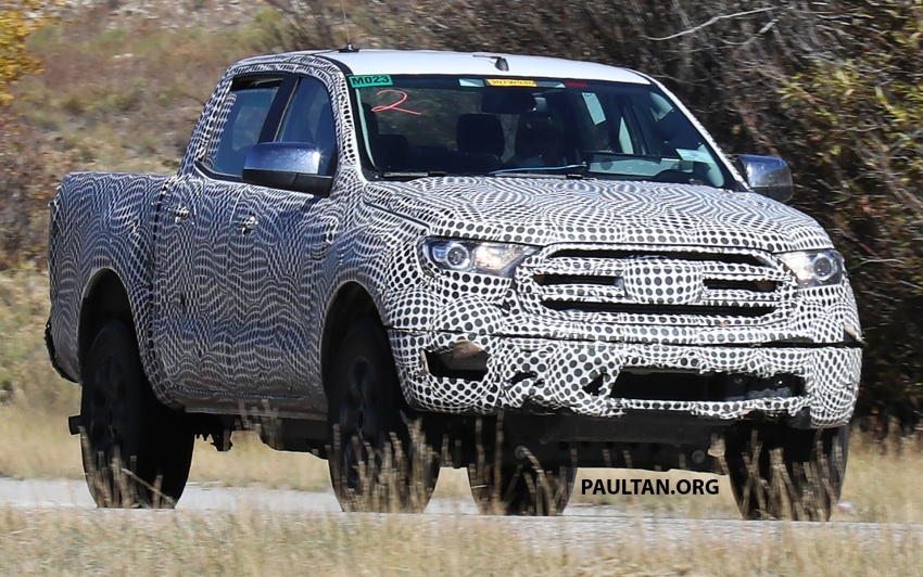 SPIED: 2019 Ford Ranger for US market caught testing Image #723938