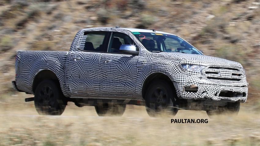 SPIED: 2019 Ford Ranger for US market caught testing Image #723941