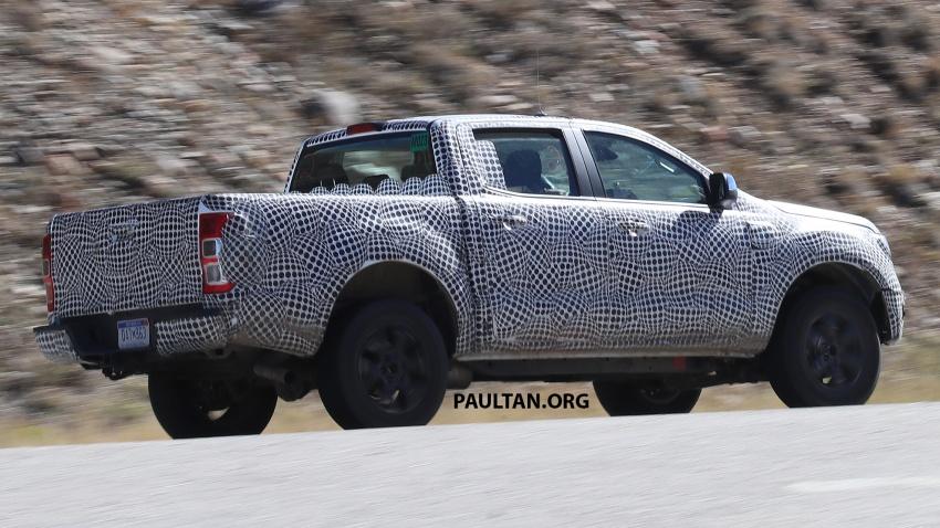 SPIED: 2019 Ford Ranger for US market caught testing Image #723945