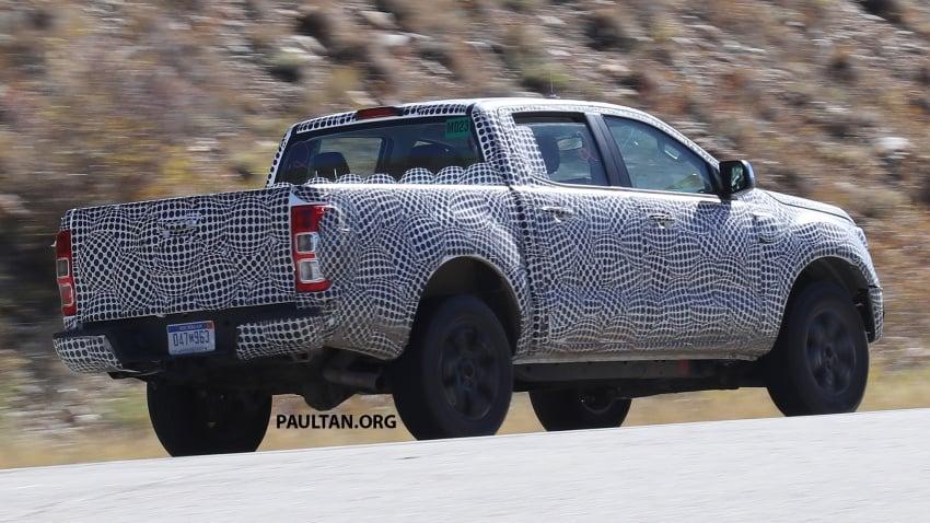SPIED: 2019 Ford Ranger for US market caught testing Image #723946