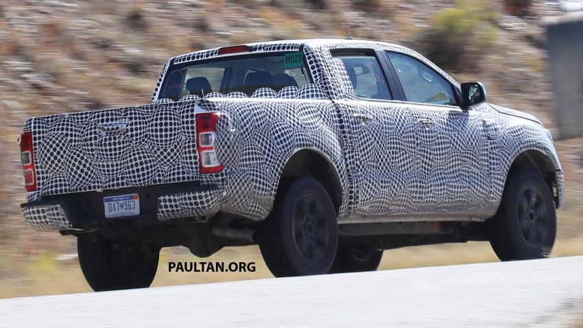 SPIED: 2019 Ford Ranger for US market caught testing Image #723947