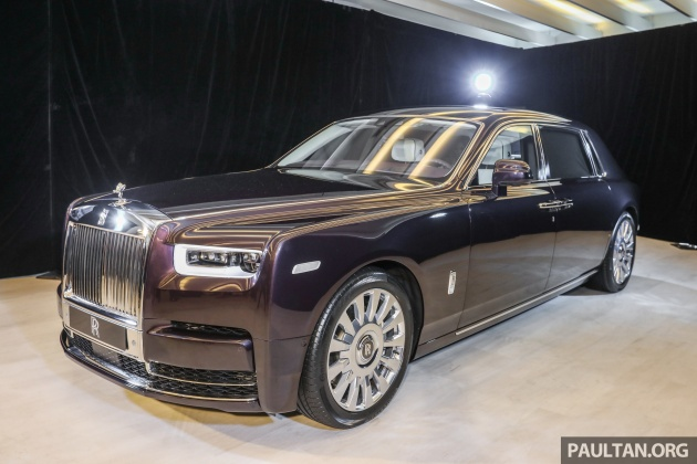 2018 Rolls Royce Phantom Debuts In Malaysia 6 75 Litre V12 563 Hp 900 Nm Rm2 2mil Excluding Ta