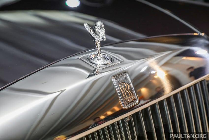 2018 Rolls-Royce Phantom debuts in Malaysia - 6.75 litre ...