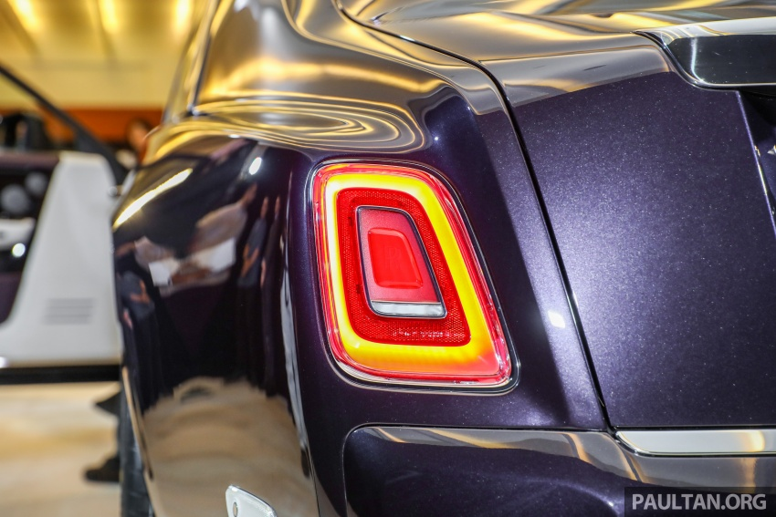 2018 Rolls-Royce Phantom debuts in Malaysia – 6.75 litre V12, 563 hp, 900 Nm, RM2.2mil excluding taxes Image #724511