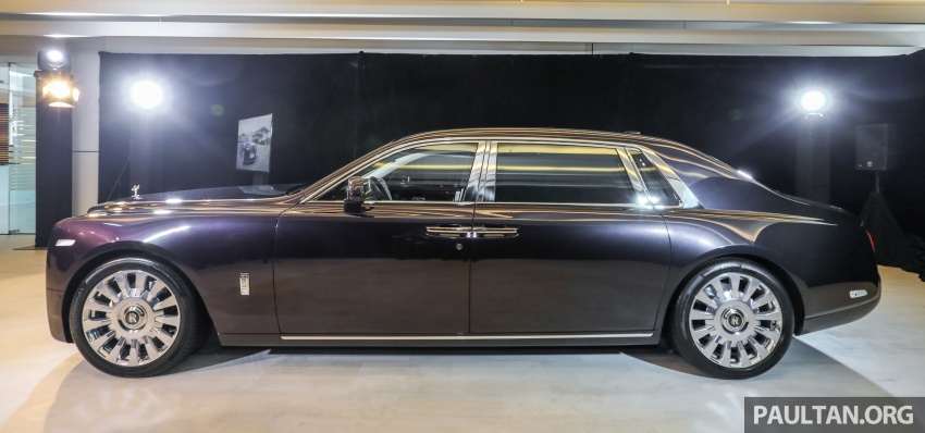 2018 Rolls-Royce Phantom debuts in Malaysia – 6.75 litre V12, 563 hp, 900 Nm, RM2.2mil excluding taxes Image #724490