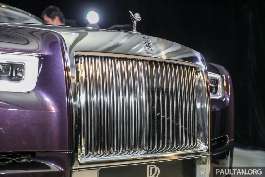 2018 Rolls-Royce Phantom debuts in Malaysia – 6.75 litre V12, 563 hp, 900 Nm, RM2.2mil excluding taxes Image #724497