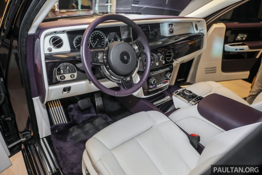2018 Rolls-Royce Phantom debuts in Malaysia – 6.75 litre V12, 563 hp, 900 Nm, RM2.2mil excluding taxes Image #724519