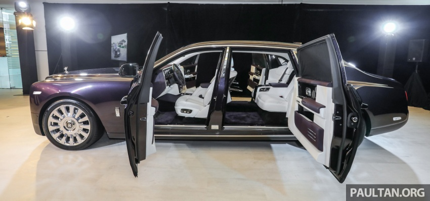 2018 Rolls-Royce Phantom debuts in Malaysia – 6.75 litre V12, 563 hp, 900 Nm, RM2.2mil excluding taxes Image #724559