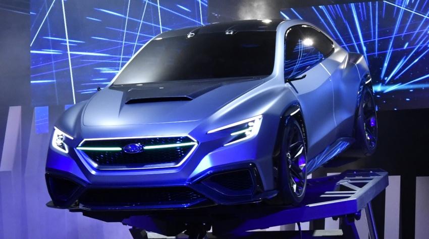 Tokyo 2017: Subaru Viziv – WRX generasi seterusnya? Image #728205