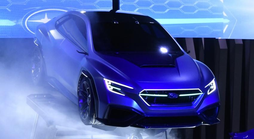 Tokyo 2017: Subaru Viziv – WRX generasi seterusnya? Image #728209