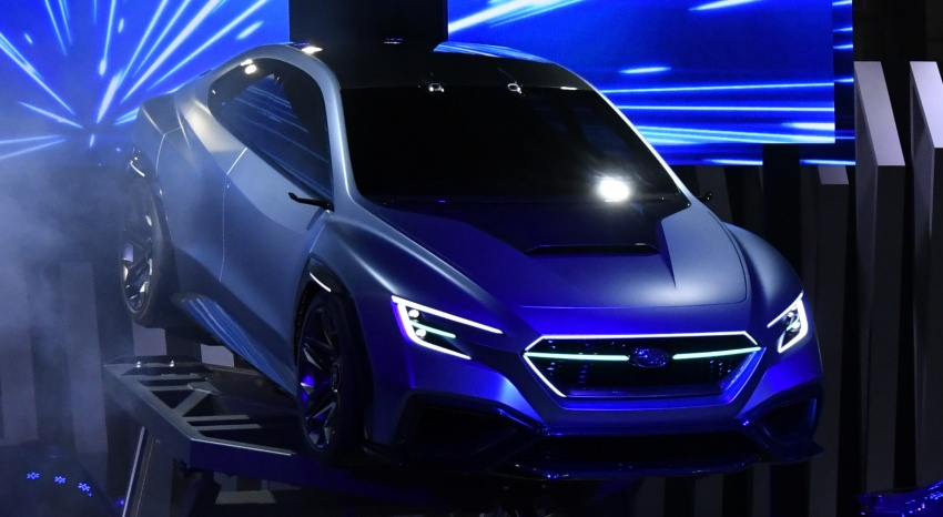 Tokyo 2017: Subaru Viziv – WRX generasi seterusnya? Image #728212