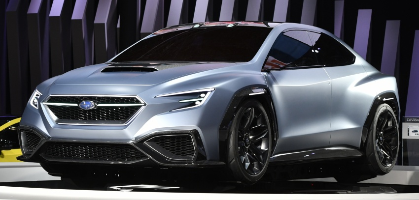 Tokyo 2017: Subaru Viziv Performance – next WRX? Image #728026