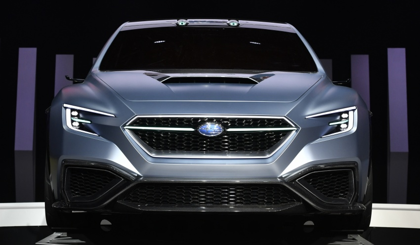 Tokyo 2017: Subaru Viziv – WRX generasi seterusnya? Image #728223