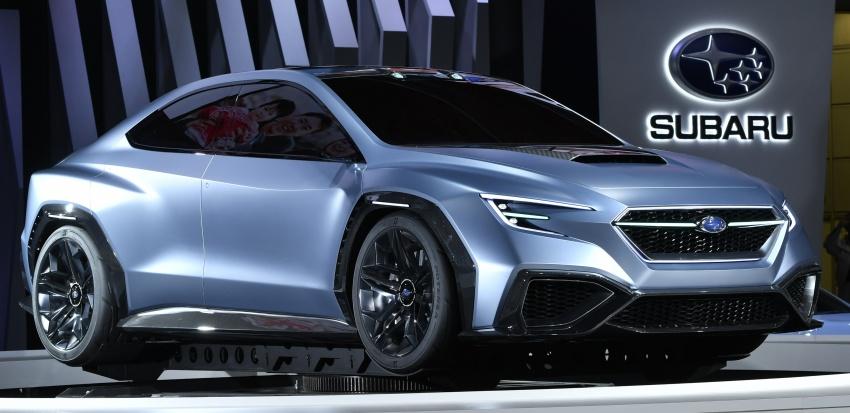 Tokyo 2017: Subaru Viziv – WRX generasi seterusnya? Image #728230