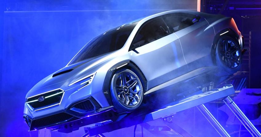 Tokyo 2017: Subaru Viziv Performance – next WRX? Image #728050