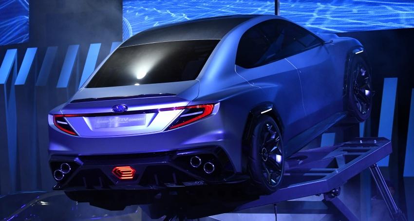 Tokyo 2017: Subaru Viziv – WRX generasi seterusnya? Image #728244