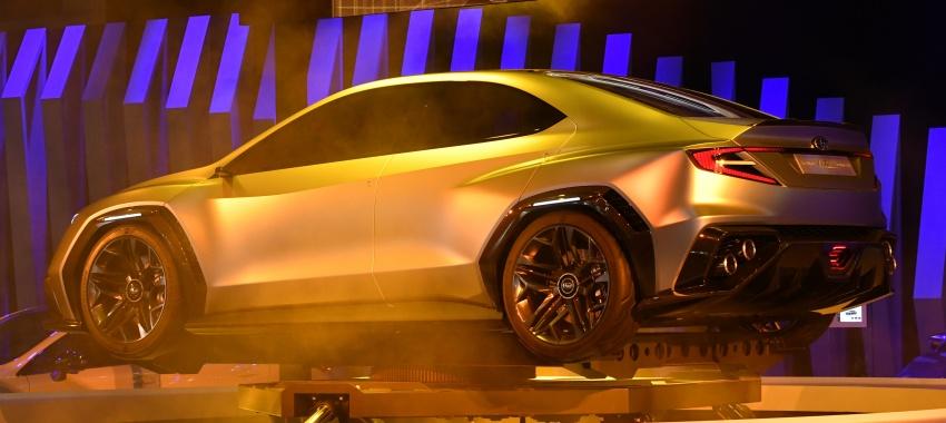 Tokyo 2017: Subaru Viziv – WRX generasi seterusnya? Image #728246