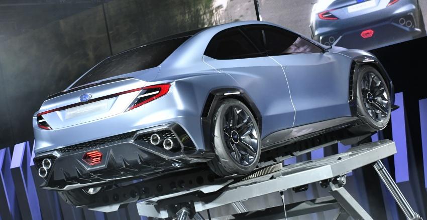 Tokyo 2017: Subaru Viziv Performance – next WRX? Image #728054
