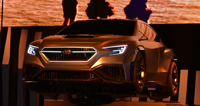 Tokyo 2017: Subaru Viziv – WRX generasi seterusnya? Image #728249