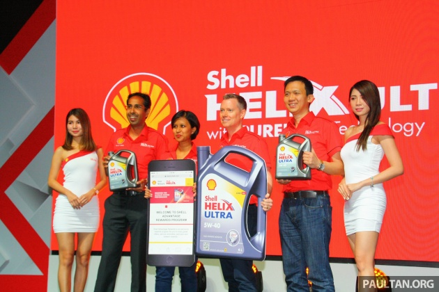 Shell Global Exhibition Programme : Shell helix drive on rewards programme launched