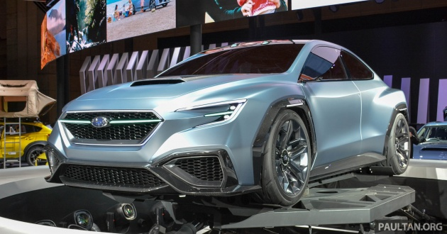 Tokyo 2017 Subaru Viziv Performance Next Wrx