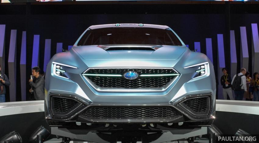 Tokyo 2017: Subaru Viziv Performance – next WRX? Image #728354