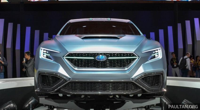 Tokyo 2017: Subaru Viziv – WRX generasi seterusnya? Image #728383