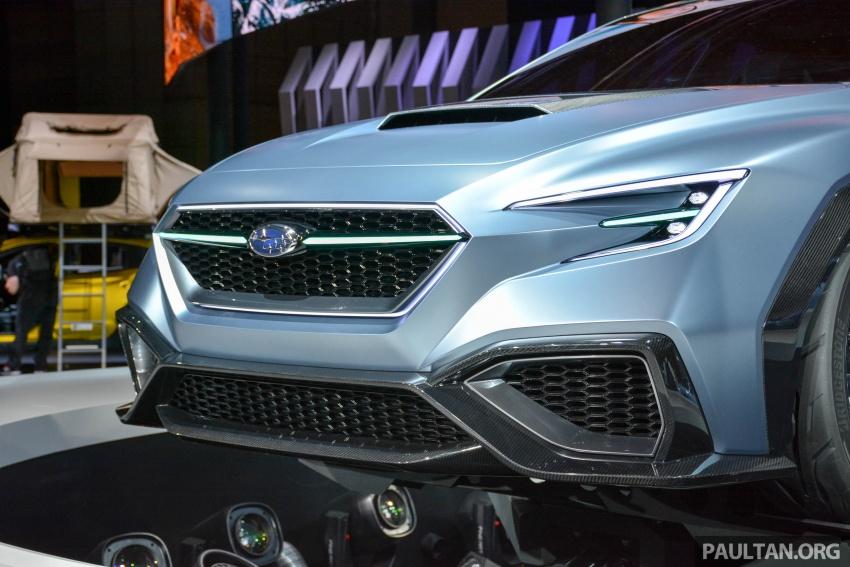 Tokyo 2017: Subaru Viziv – WRX generasi seterusnya? Image #728373