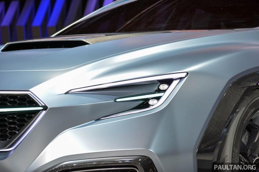 Tokyo 2017: Subaru Viziv Performance – next WRX? Image #728342