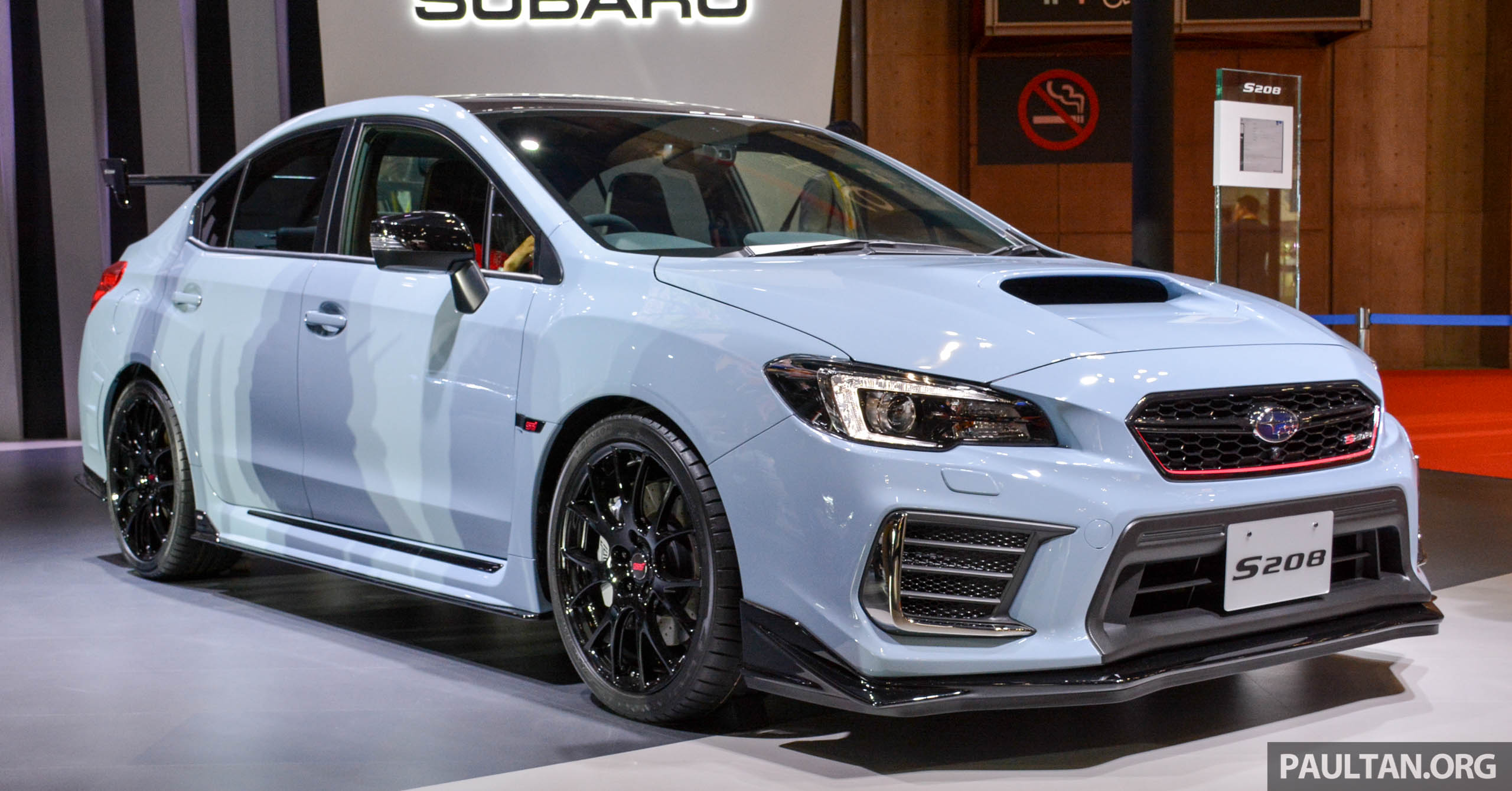 tokyo 2017 subaru wrx sti s208 329 ps 432 nm. Black Bedroom Furniture Sets. Home Design Ideas