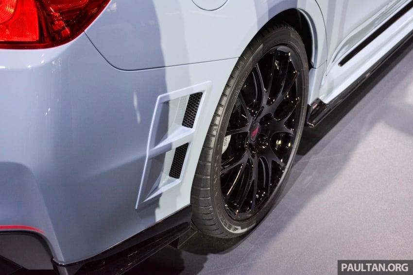 Tokyo 2017: Subaru WRX STI S208  – 329 PS, 432 Nm Image #728437